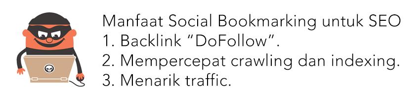 manfaat social bookmarking untuk seo